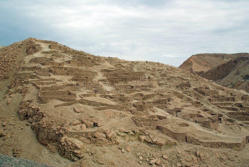 智利印加人废墟 免版税图库摄影