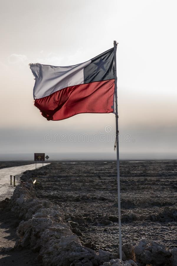智利标志 库存照片