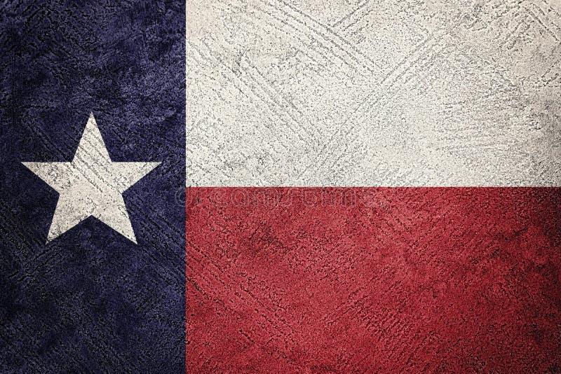 智利标志grunge 与难看的东西纹理的智利旗子 库存图片