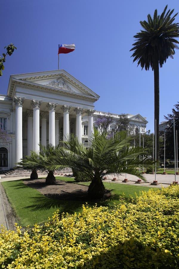 智利congreso nacional圣地亚哥 库存照片
