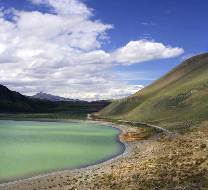 智利del国家paine公园巴塔哥尼亚torres 免版税图库摄影