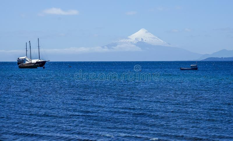 智利puerto varas 免版税库存图片