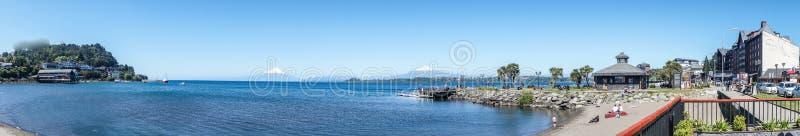 智利puerto varas 免版税库存照片
