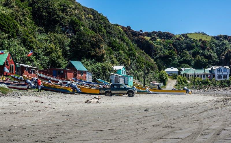 智利puerto varas 库存照片