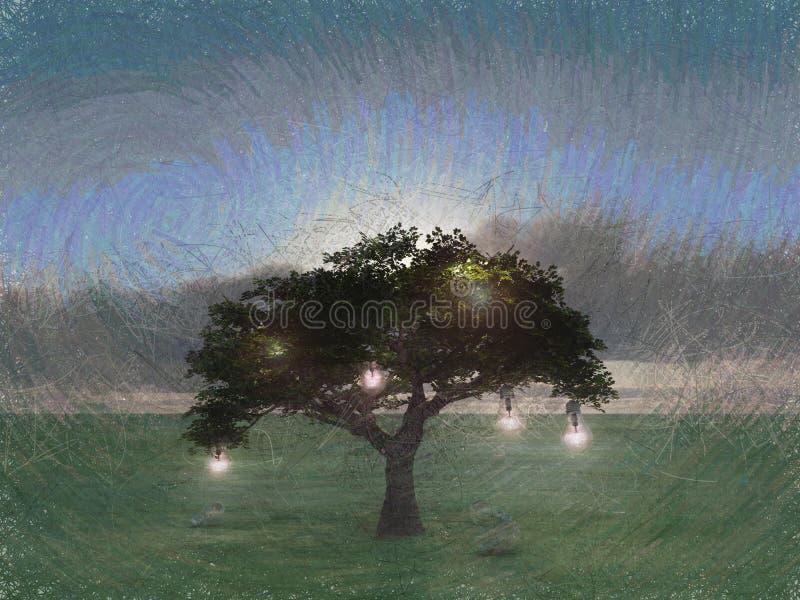 智慧树 向量例证