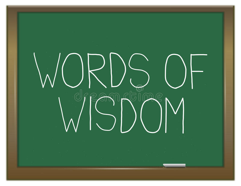 智慧概念的词 向量例证