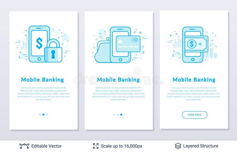 智能手机和美元货币金钱标志 向量例证