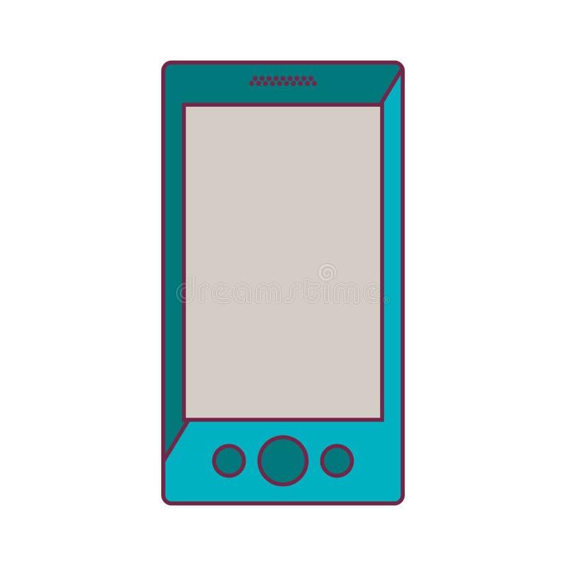 智能手机携带式装置 向量例证