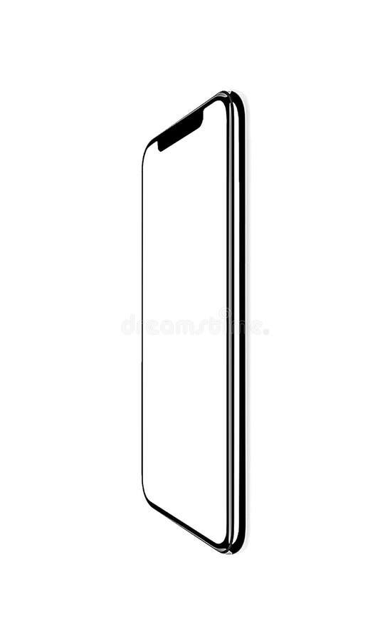 智能手机相似与iphone xs 库存例证