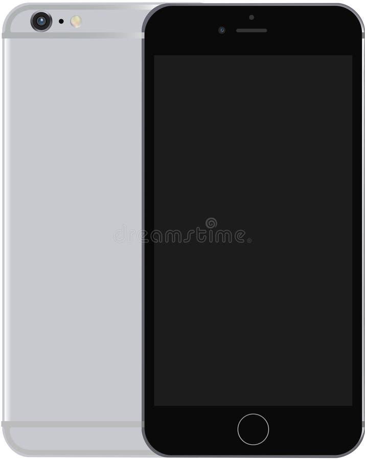 智能手机6s 库存例证