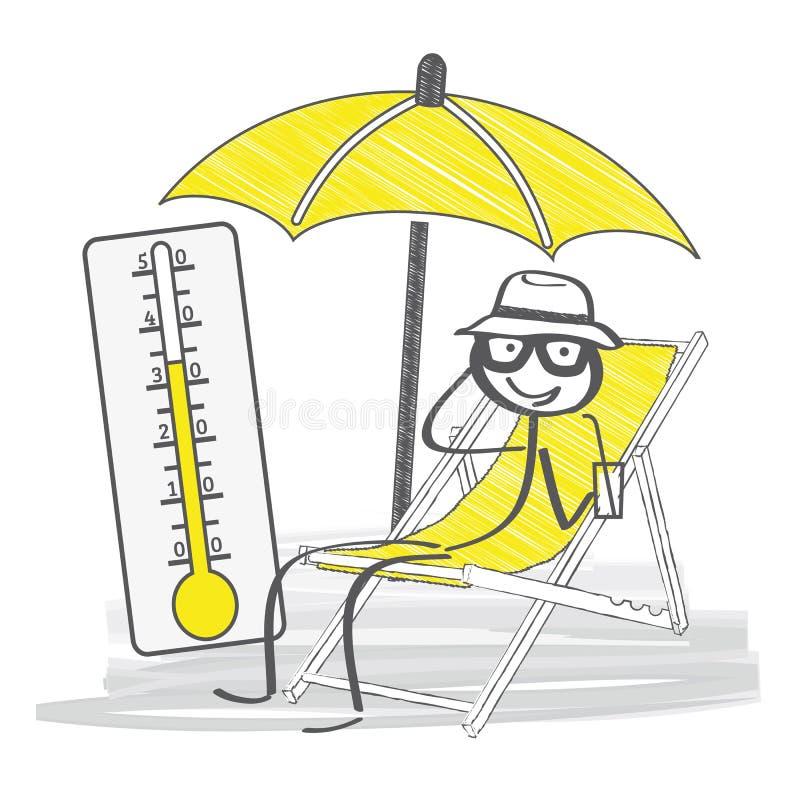 暑假例证 向量例证