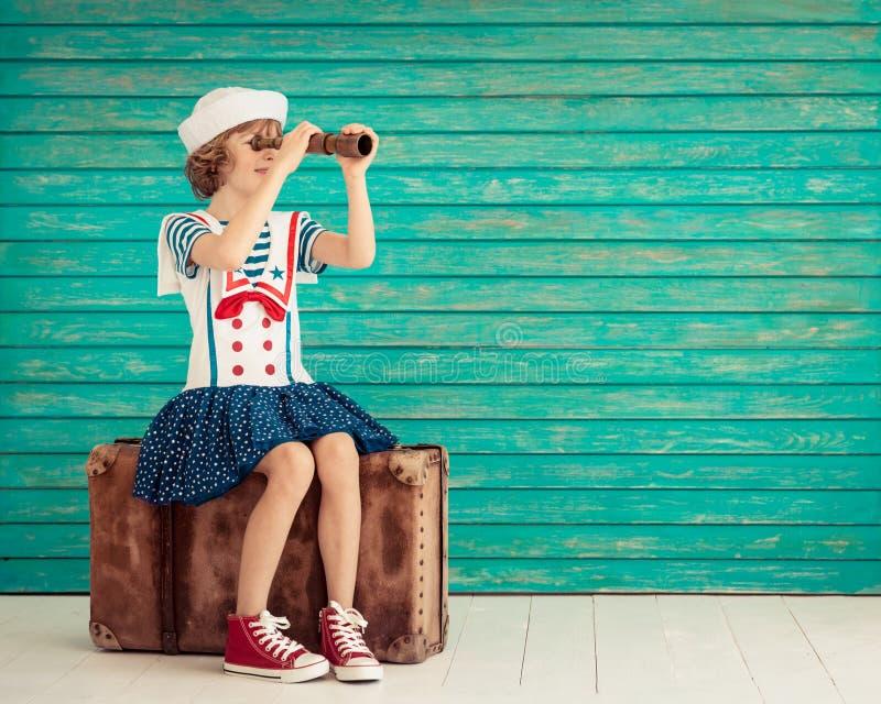 暑假和旅行概念 库存图片