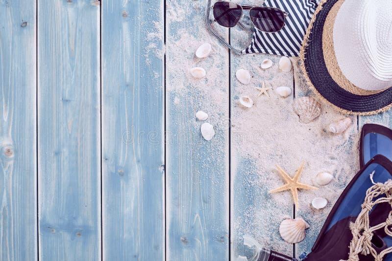 暑假放松背景题材 图库摄影