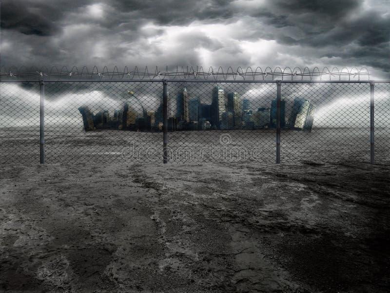 黑暗的城市2 免版税图库摄影