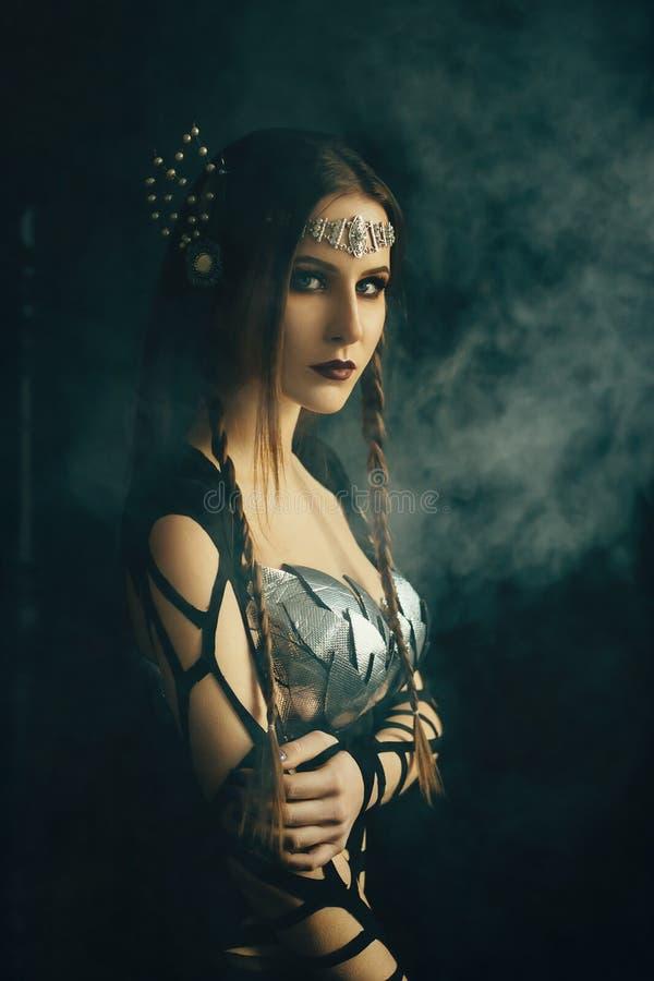 黑暗的女王/王后 库存图片