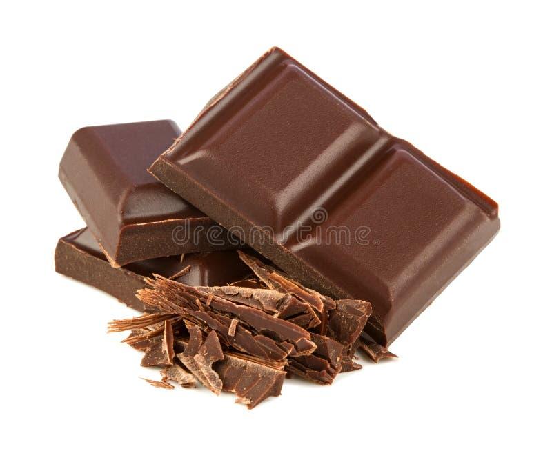 黑暗的巧克力 免版税库存图片