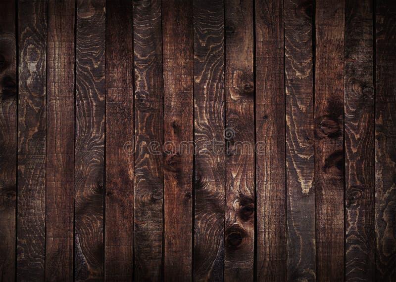 黑暗的木板条背景 库存图片