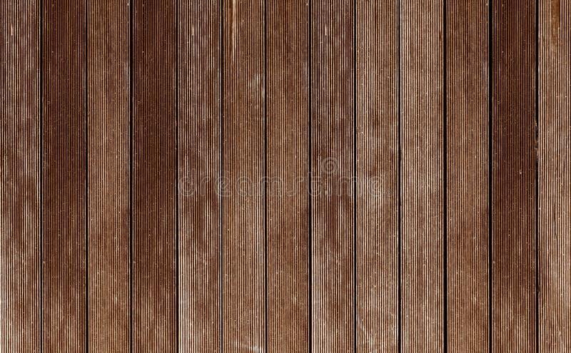 黑暗的木纹理背景板条盘区木材 免版税库存图片