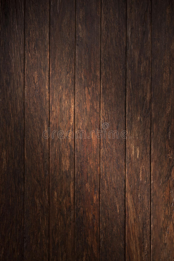 黑暗的木背景 免版税库存图片