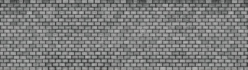 黑暗的砖墙,黑石块纹理,高分辨率 图库摄影