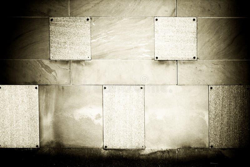 黑暗的空的坟墓 库存图片