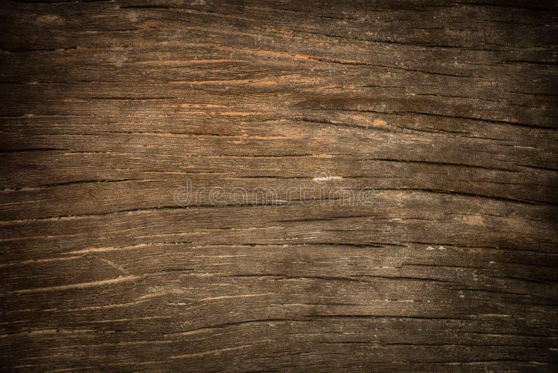 黑暗的纹理木头 库存图片