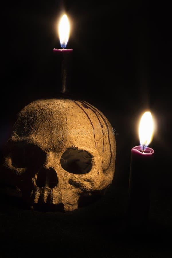 黑暗的魔术 免版税库存图片