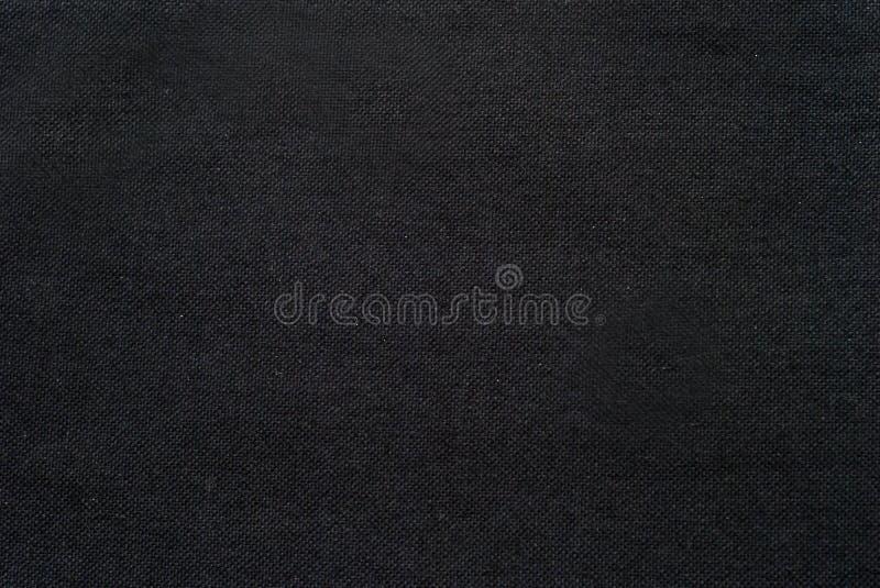 黑暗的织品纹理细节 免版税库存照片