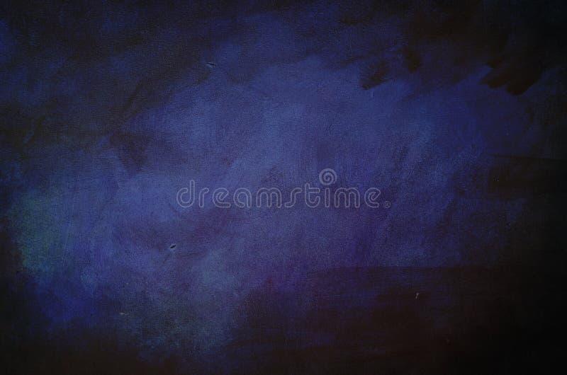 黑暗的紫色脏的背景 图库摄影