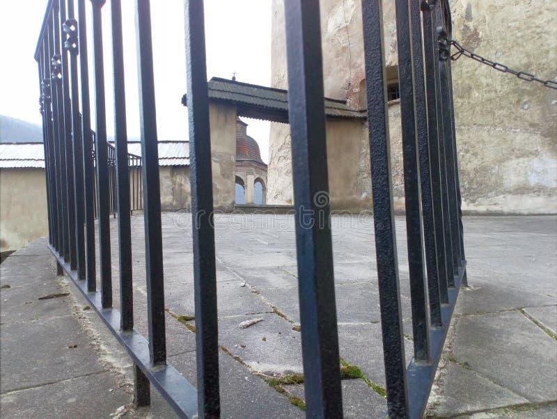 暗藏的城堡对象 免版税图库摄影
