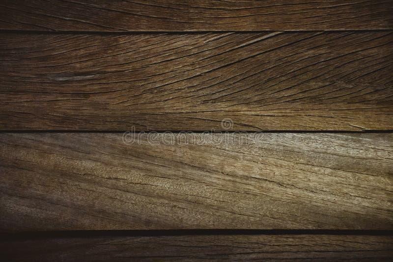 暗风化木质的木板 免版税图库摄影