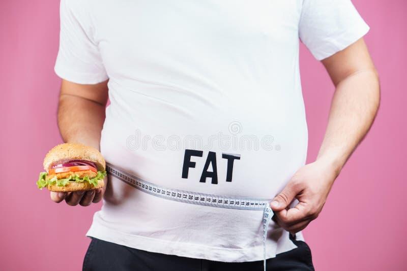 暴食者,垃圾食品,饮食,便当,暴饮暴食 免版税库存图片
