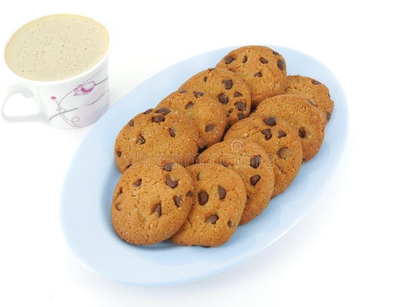 曲奇饼和咖啡 库存图片