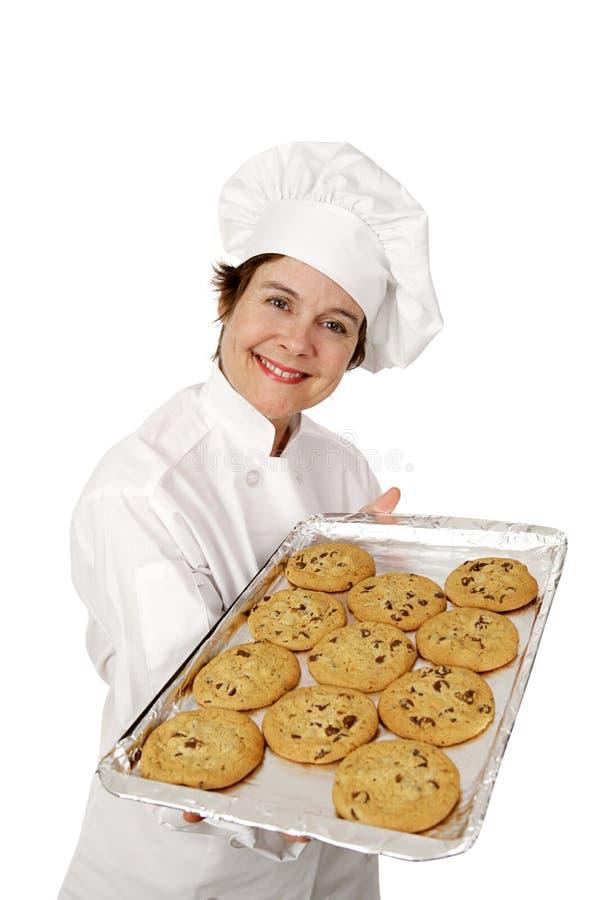 曲奇饼新鲜热 库存照片