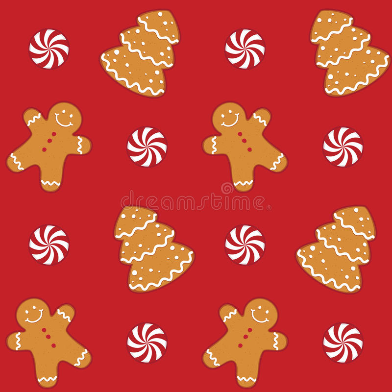 Download 曲奇饼无缝姜饼的模式 向量例证. 插画 包括有 空白, 快乐, 沙漠, 模式, 庆祝, 糖果, 背包, 无缝 - 15692109