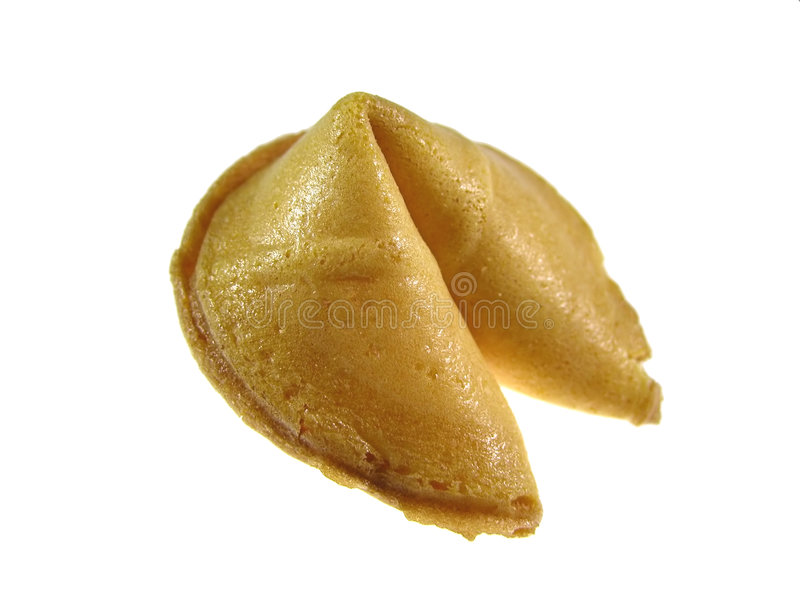 曲奇饼时运 库存图片