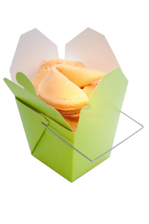 曲奇饼时运 免版税图库摄影