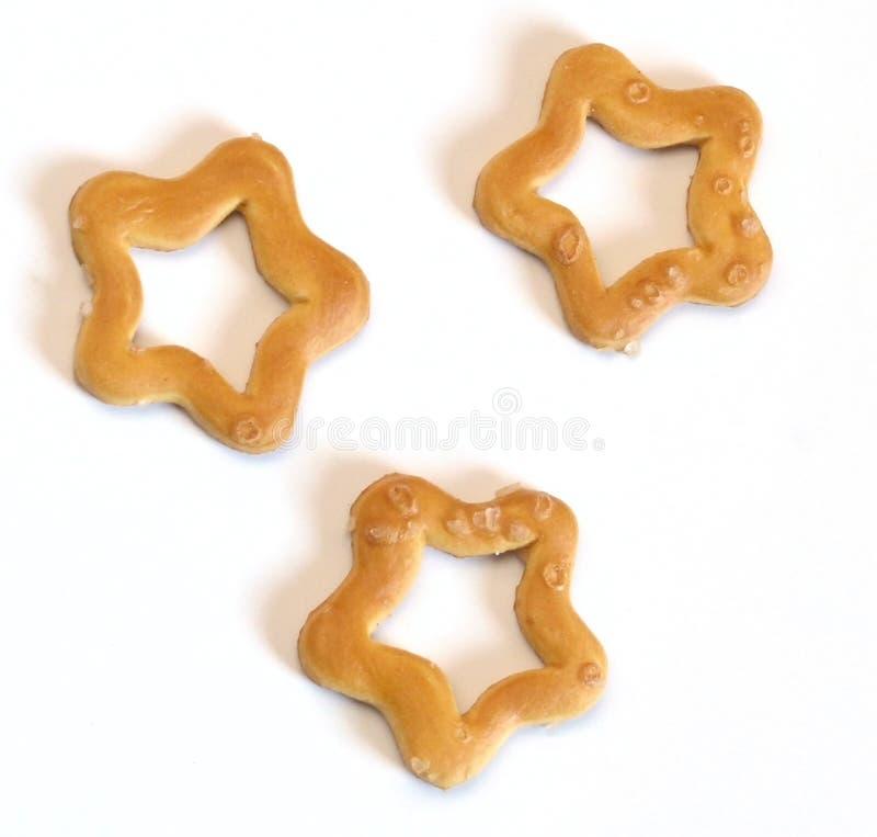曲奇饼星形 库存图片