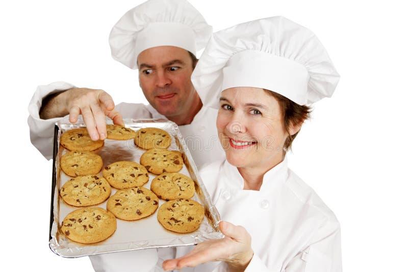 曲奇饼窃贼 库存照片