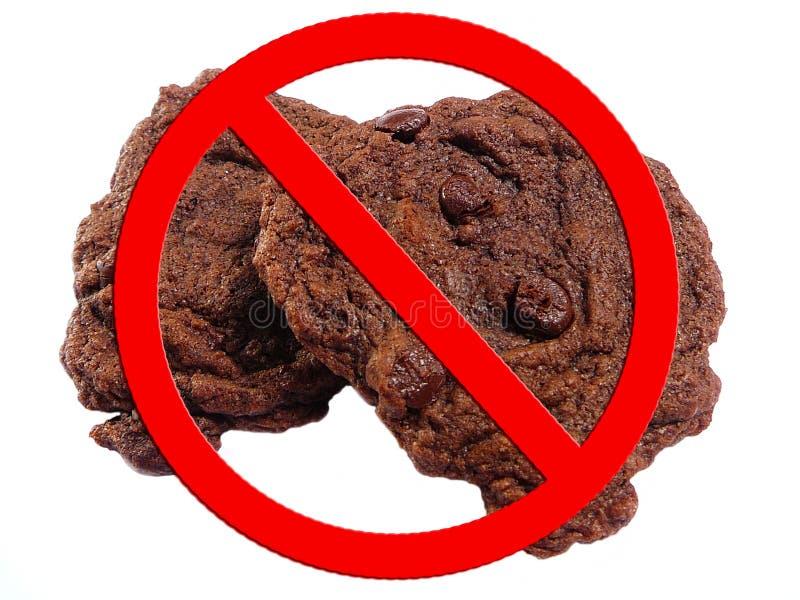 曲奇饼节食没有 免版税库存照片