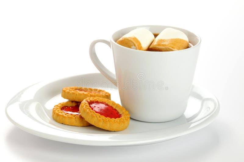 曲奇饼被装载的堵塞 免版税库存照片