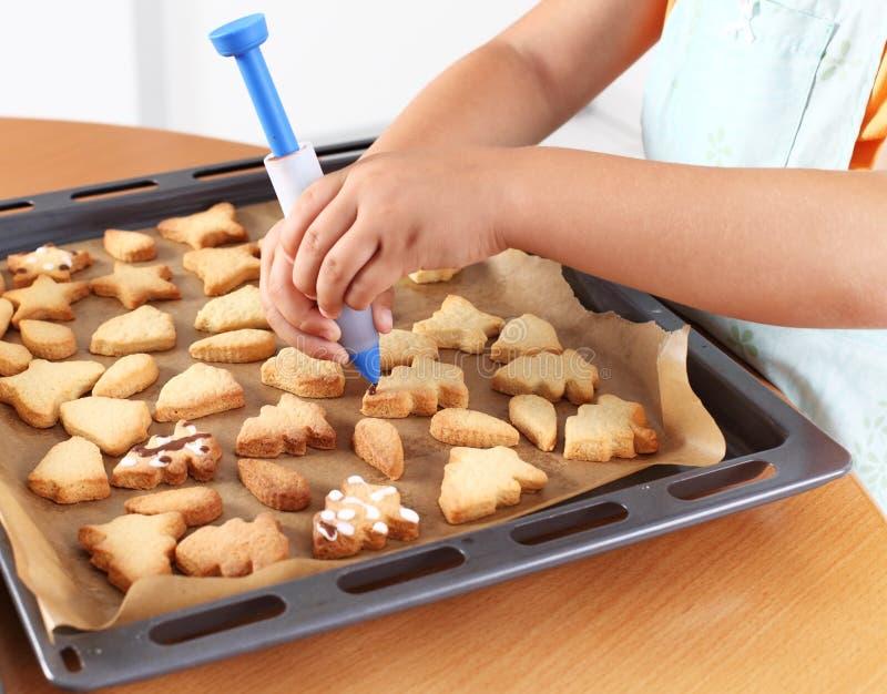 曲奇饼装饰 免版税库存图片