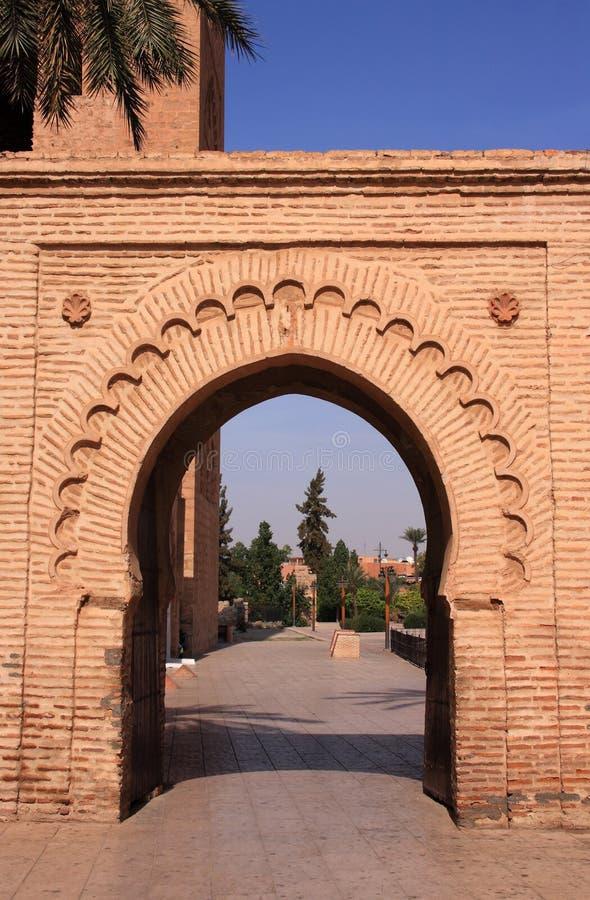 曲拱伊斯兰摩洛哥 库存图片