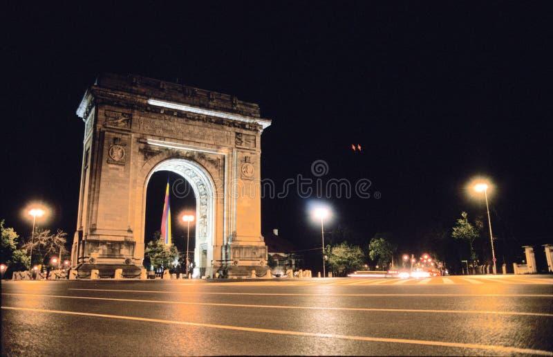曲拱凯旋式的罗马尼亚 免版税库存图片