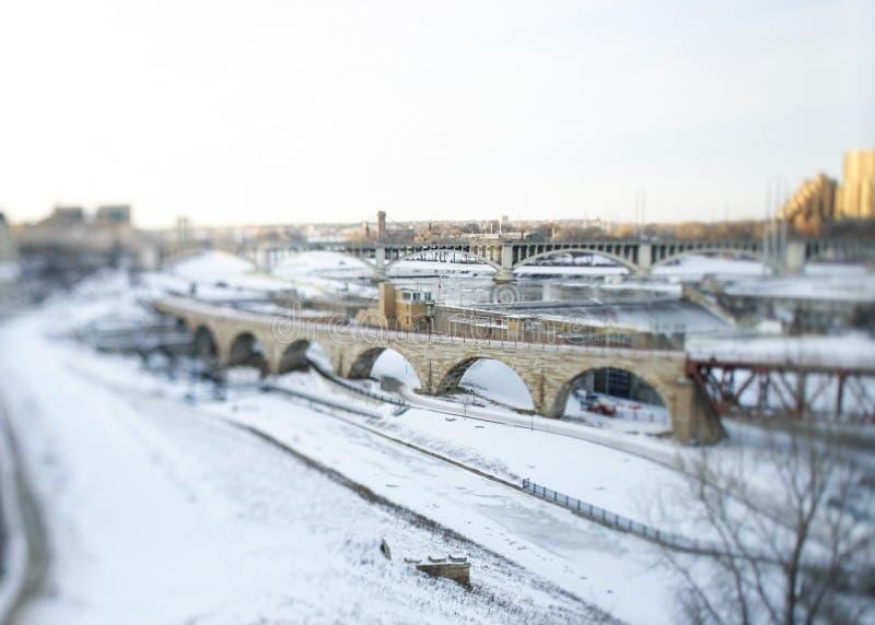 曲拱桥梁石头 库存照片