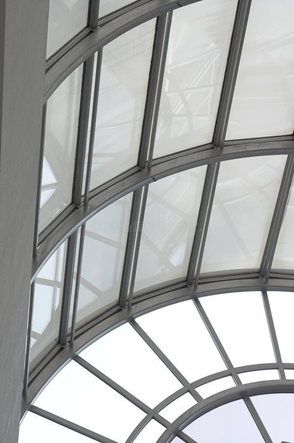 曲拱视窗 免版税库存照片