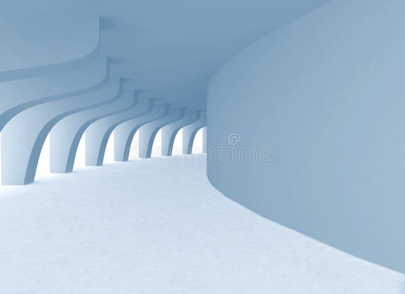 曲拱隧道 库存例证