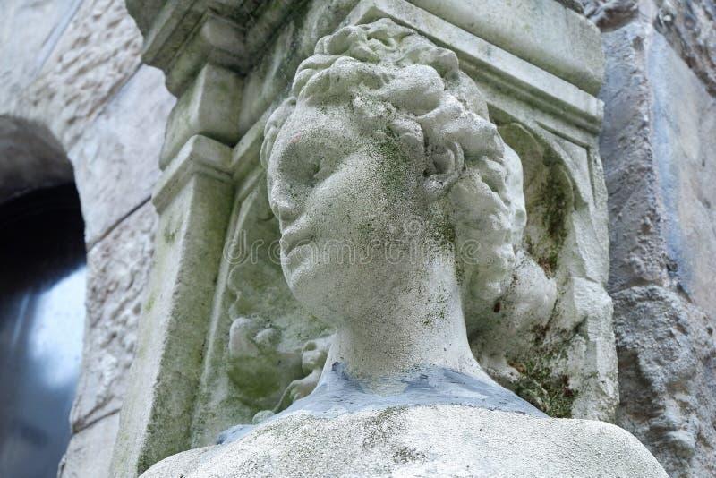 曲拱-照片图象角度雕象  库存照片