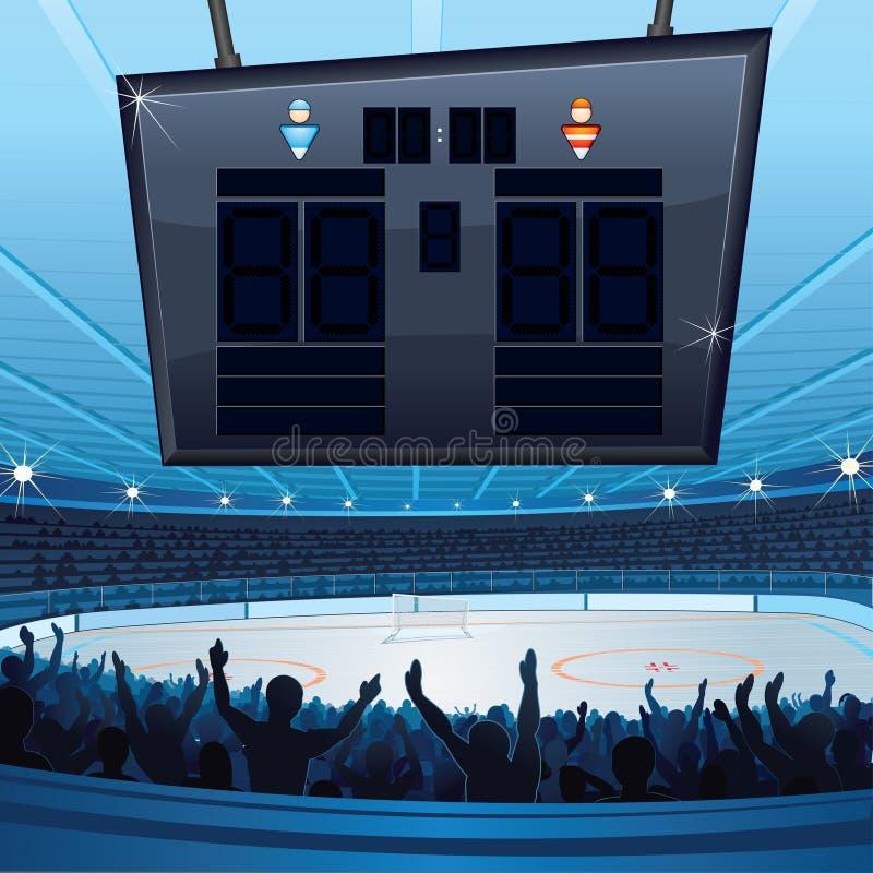 曲棍球体育场 皇族释放例证