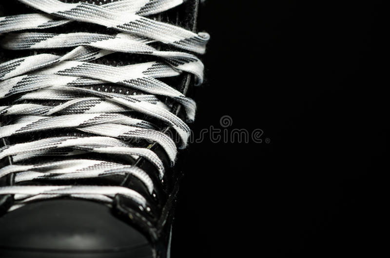 曲棍球冰鞋 库存图片